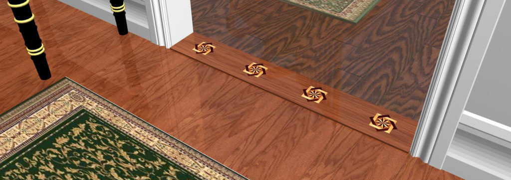 TRANSITION THRESHOLD for Wood Floors